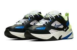 Nike Men's M2K Tekno Shoes 'Black Royal Volt' NIB CI2969-002 $75 - $66.99