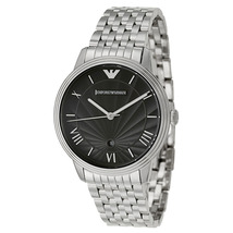 EMPORIO ARMANI AR1614 GENTS CLASSIC STAINLESS STEEL WATCH - $137.89