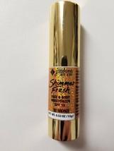 2 Jordana Shimmer Fresh Face & Body Moisturizer 02 Bronze SPF15 0.53 OZ - $10.39
