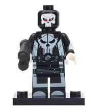 Ultimate Punisher Netflix Marvel Universe Lego Minifigures Block Gift For Kids - $1.99