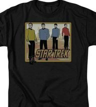 Star Trek Animated T-shirt Retro Sci-Fi Series graphic cotton tee CBS396 image 3