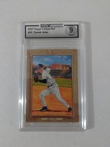 2007 Topps Baseball Turkey Red #95 Derek Jeter Global Authority Graded 9 Mint - $19.99