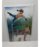 WWE #1 - WRESTLING VARIANT 2016 - BOOM COMICS - FREE SHIPPING - $92.57