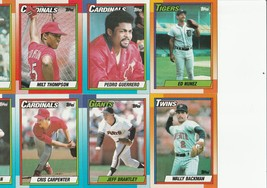1990 Topps Cards Collectible Baseball 46-Cards  - $34.00