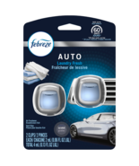 Febreze Car Vent Clip Air Freshener, Laundry Fresh, .06 Fl. Oz Each, Pac... - $10.95