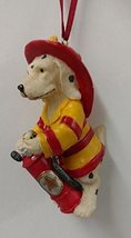 Firefighter Ornament (Firehouse Dog 2) - $15.00