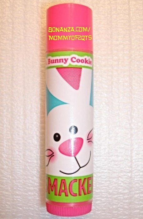 Lip Smacker Pink Bunny Cookie Easter Sweets Lip Gloss Lip Balm Chap Stick