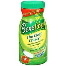 Benefiber Fiber Supplement - Bonus Size - Now 190 Servings! Long Expirat... - $42.00