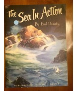 Book # 83 - The Sea in Action by Earl Daniels/ Walter T. Foster Publication - $10.00