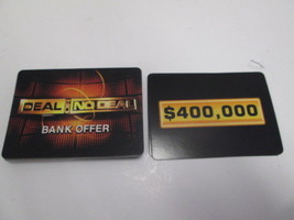 Cardinal 2006 Deal or No Deal replacement bank offer cards complete set of 25 - $4.90