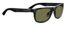 Serengeti Nico 7647 Sunglasses Shiny Gray Marble / 555NM Polarized - $114.95