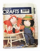 """McCalls sewing pattern 8659 fay wine blossom babies dolls 23"""" uncut vintage - $9.59"""