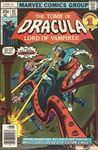 (CB-9) 1978 Marvel Comic Book: The Tomb of Dracula #62 { Dracula vs his Father } - $20.00