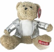 Galerie Hershey's Kisses Biker Teddy Bear Stuffed Animal Plush Toy  - $13.85