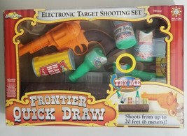 Frontier Quick Draw Game Electronic Target Shooting Set Buzz Bee Toys  - $51.43
