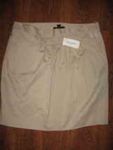 NWT $59.50 Banana Republic Womens Pencil Skirt Khaki Beige Mini Size 8 - $19.99
