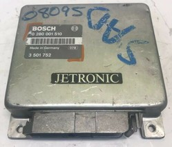 1987 Volvo 760 ECM ECU Engine Control Module | 0 280 001 510 - $99.00