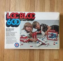 Vintage Loc Bloc 600 (Entex) Construction Blocks Set