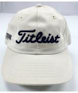 Titleist Golf Baseball Cap Hat Adjustable Strapback University Park Made... - $18.41