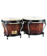 "Tycoon Bongo Drums/Supremo Series/ Series/Chisled Orange/ 7"" and 8.5"" Sh... - $100.99"