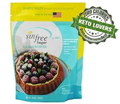 Xylitol with Erythritol Blend Sweetener - Keto Friendly - No Calorie Sweetener,