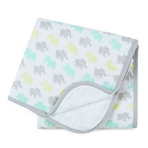 ideal baby by the makers of aden + anais Muslin Blanket, Tall Tale - $14.23
