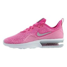 Nike Women's Air Max Sequent 4 Running Shoe (8|Laser Fuchsia/Metallic Si... - $151.08
