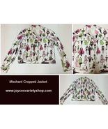 Mechant Fashion Cropped Jacket SZ 12/14 Light Weight Made USA - $19.99