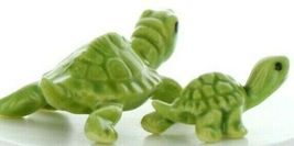 Hagen Renaker Miniature Turtle Mama and Baby Ceramic Figurine Set image 9
