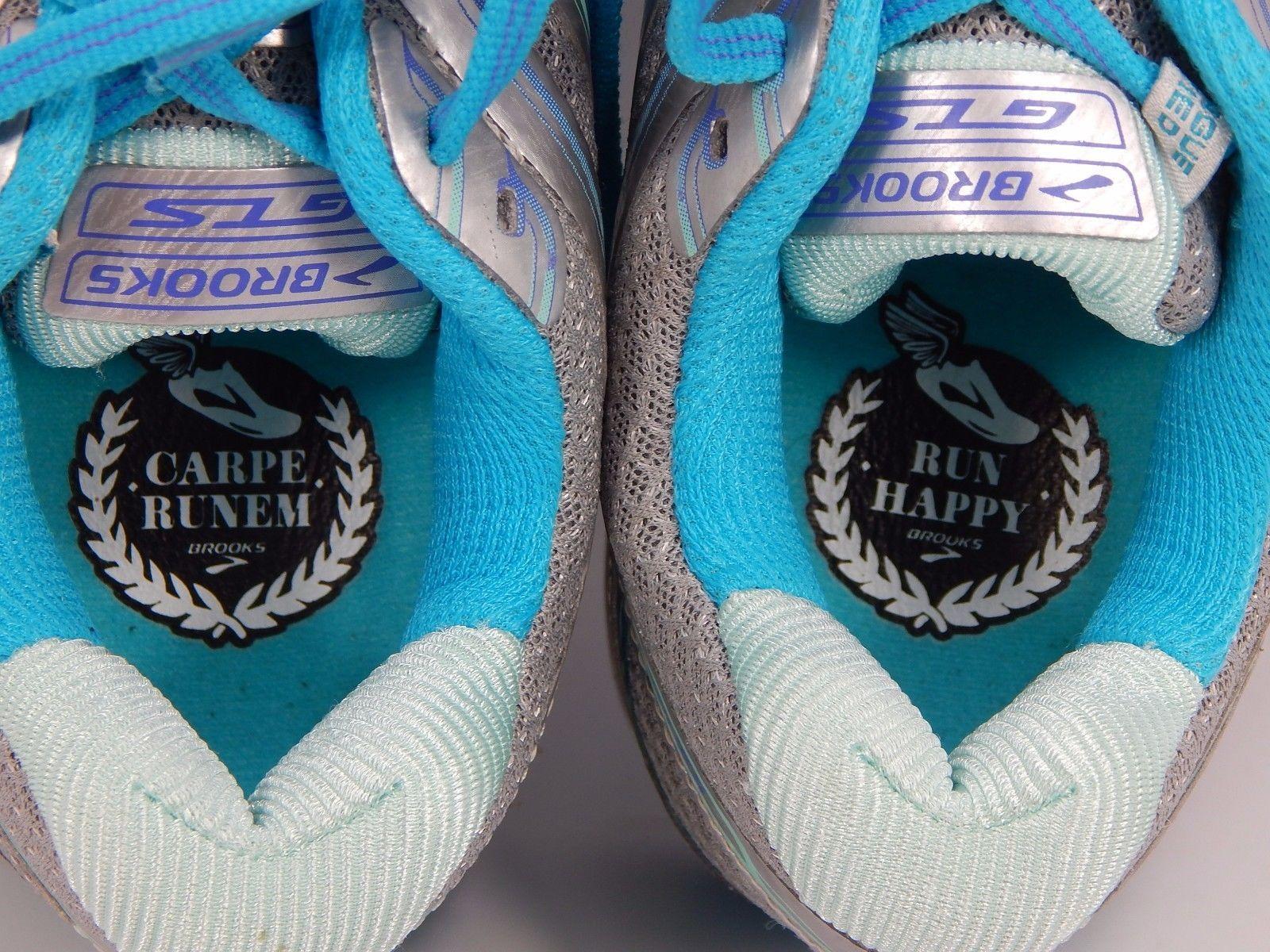 Brooks GTS 16 Women's Running Shoes Size US 7 M (B) EU 38 Silver 1202031B170