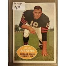 1960 Topps #20 Doug Atkins : Chicago Bears - $3.75