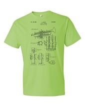 Trumpet T-Shirt Patent Art Gift Trumpet Patent Trumpet Design Trumpeter ... - $18.95+