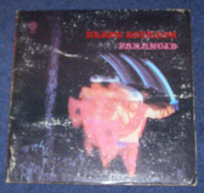 Black Sabbath Paranoid GATEFOLD US vintage LP