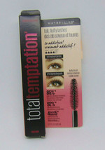 MAYBELLINE TOTAL TEMPTATION Washable Mascara Brownish Black 0.27oz./8.25ml - $7.43