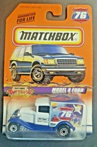 1998 Matchbox Ford Model A #76 White Delivery Truck Toy Show Hershey, PA HW4 - $12.99