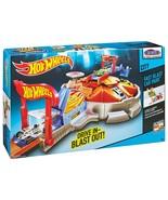 Hot Wheels City - FAST BLAST CAR PARK w/ Launcher & Vehicle DRIVE IN - B... - $18.91