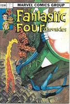 The Fantastic Four Chronicles Comic Book FantaCo 1982 NEAR MINT NEW UNREAD - $9.74