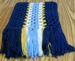 Long hockey scarf blue  2 thumb155 crop