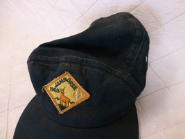 1969 Jamboree Patch Hat Boy Scouts Idaho Dark Green BSA - $19.25