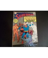 "VINTAGE 1966 SUPERMAN COMIC #190 ""THE ELEMENT ENEMIES!"" VERY FINE - $4.94"