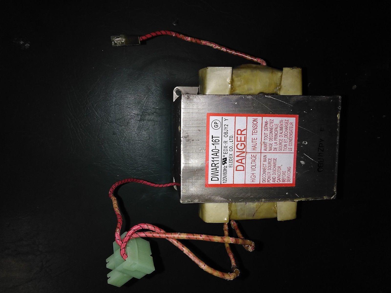 7LLL97 MAGIC CHEF MCD1611 TRANSFORMER, ELEDEX DWAR11A0-16T: 1.8 OHM PRI, 1.1 OHM - $35.41