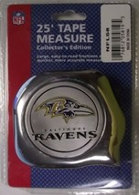 Great Neck NFL58 1' x 25' NFL Tape Measure Baltimore Ravens - $6.93
