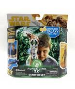 Disney Star Wars Force Link 2.0 Starter Set with 3.75 Inch Han Solo Figure - $9.99
