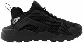 Nike Air Huarache Run Ultra BR Black/Black 833292-001 Women's Size 5.5 - $125.00