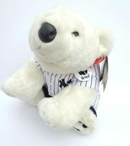 Build a Bear WWF World Wildlife Fund Polar Bear Plush NY Yankees Outfit ... - $45.00