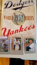 1952 World Series Program New York Yankees/ Brooklyn Dodgers w/14 bowman... - $717.75