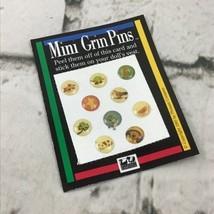 Vintage 1995 American Girl Doll Mini Grin Pins Card Pleasant Company - $7.91