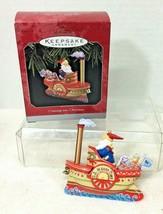 1998 Cruising into Christmas Hallmark Christmas Tree Ornament MIB Price ... - $18.32