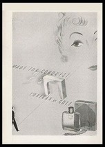 Coty Perfume Ad L'Origan Made for Conquest Bottle Box Print Ad - $14.99