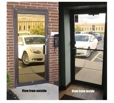 "Mirrored Gold Privacy Window Film, 30"" x 100 ft - $378.99"